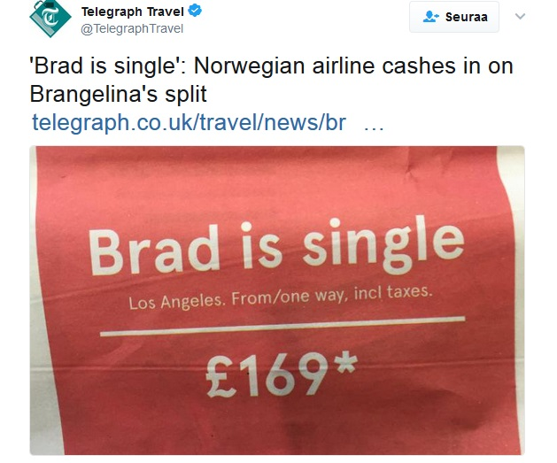 Norwegian Brad